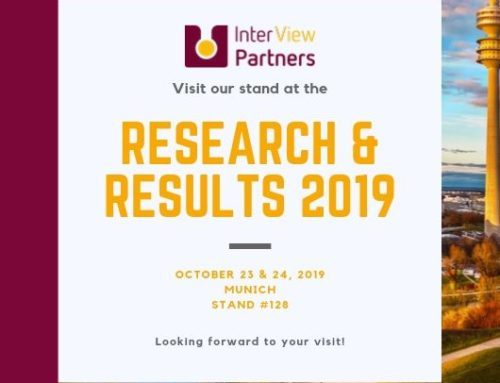 Inter-View Partners at Research&Results Fair 2019, Munich / GERMANY